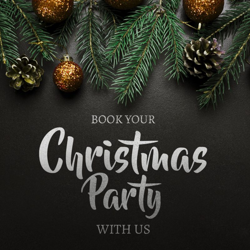 Book now for Christmas & New Year 2019